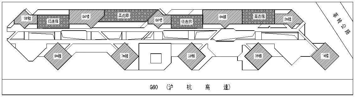 LDG结构︱漕河泾南部综合体(一期)多连体结构分析(纯干货)