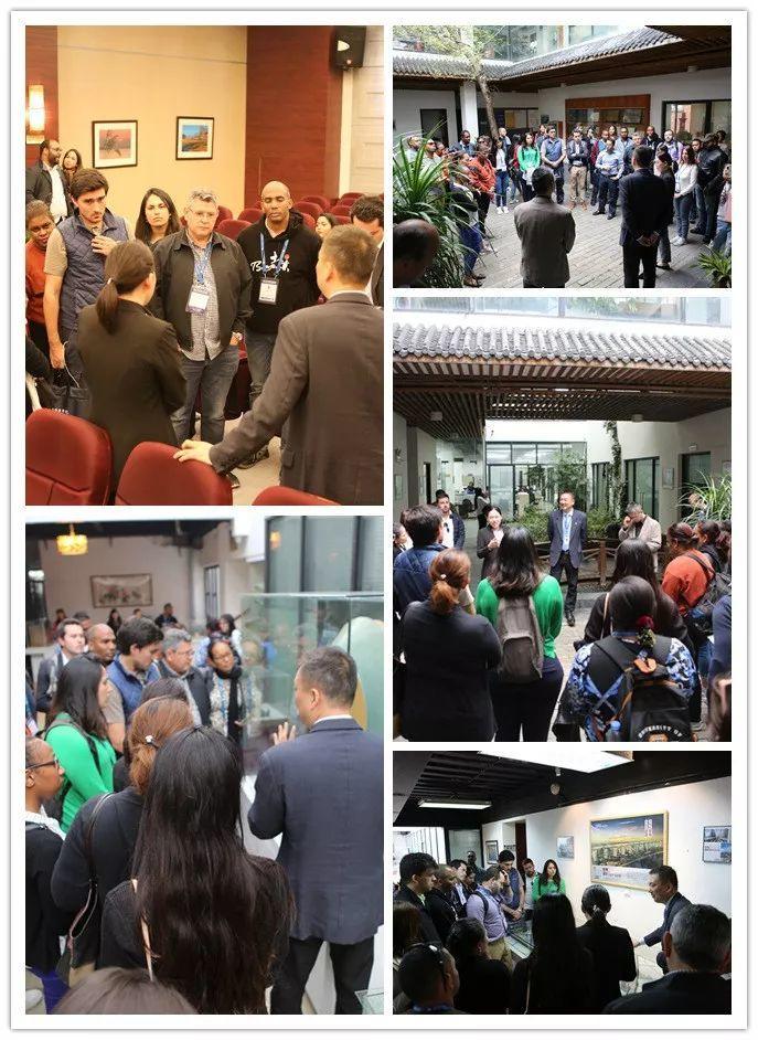 LDG动态︱2018年拉美、加勒比和南太国家研修班到访上海经纬交流学习