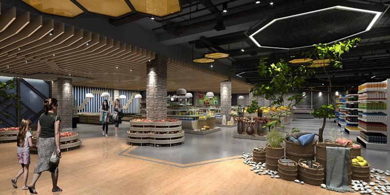 LDG室内︱菜市场的新方向(互联网+生鲜)