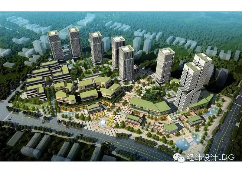 LDG建筑︱渝商蔡家中小型企业孵化基地