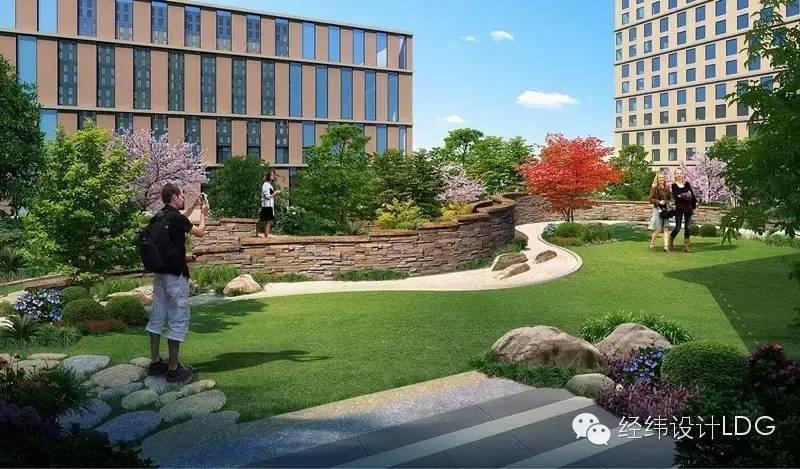 LDG景观︱科技绿洲景观设计