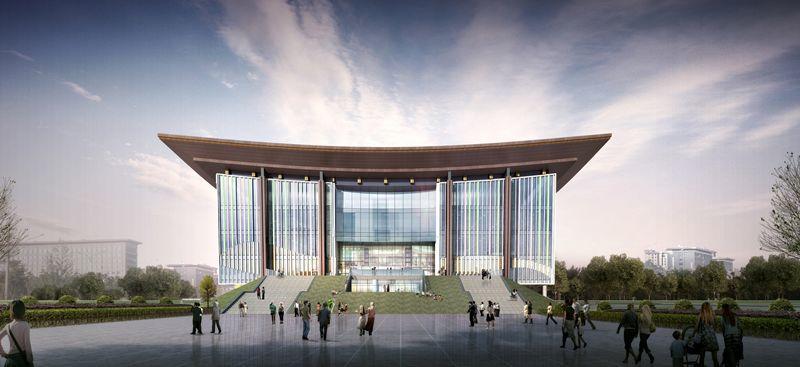 LDG建筑︱云南省妇女儿童发展中心(妇女儿童国际交流中心)