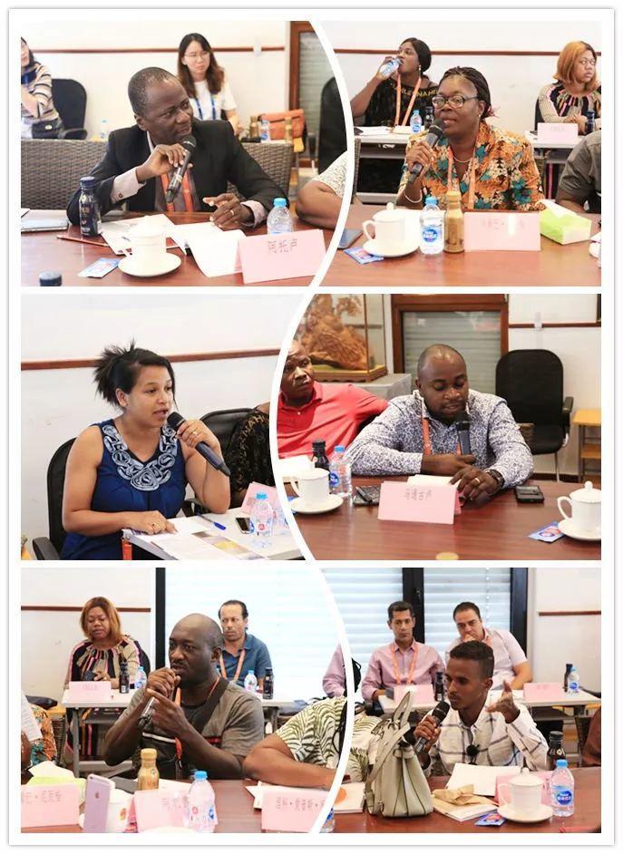LDG动态︱2019年非洲法语国家城市规划与建设研修班到访上海经纬学习交流