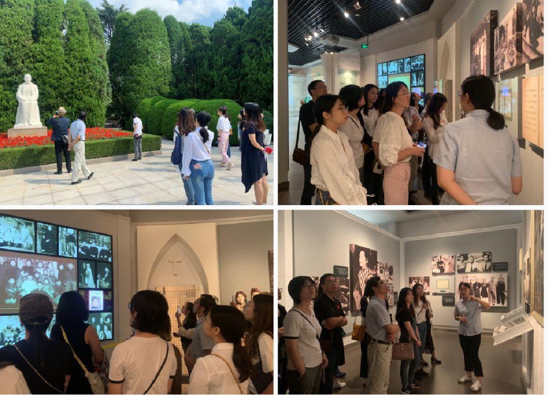 LDG动态 | 上海经纬全部党员参观《宋庆龄文物文献特展》