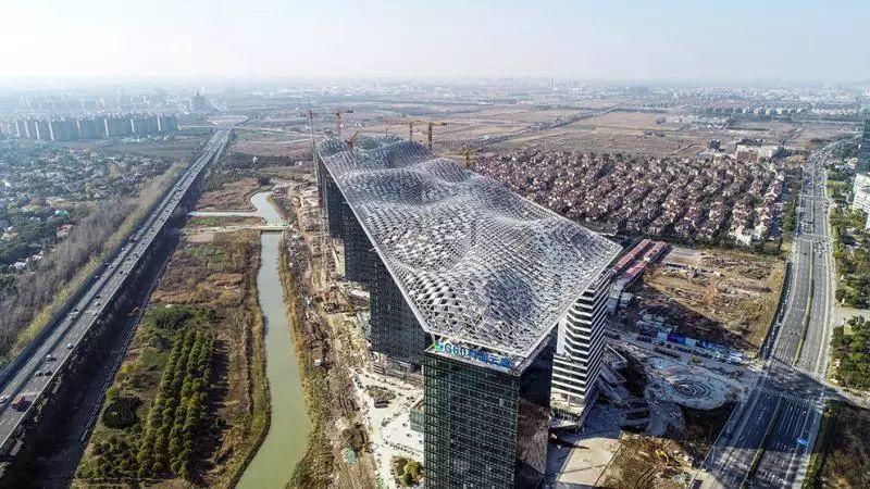 """LDG动态︱上海松江""""G60科创云廊""""一期主体结构建成,或将成为世界之最"""