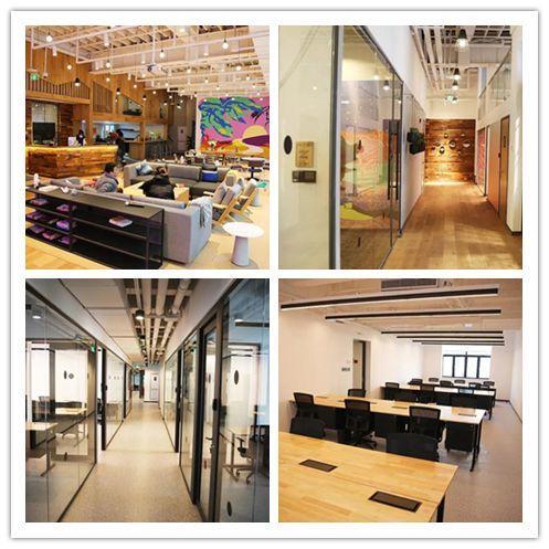 LDG动态︱上海经纬与百联资控、WeWork强强联手合作三个项目设计施工正式完成并交付使用