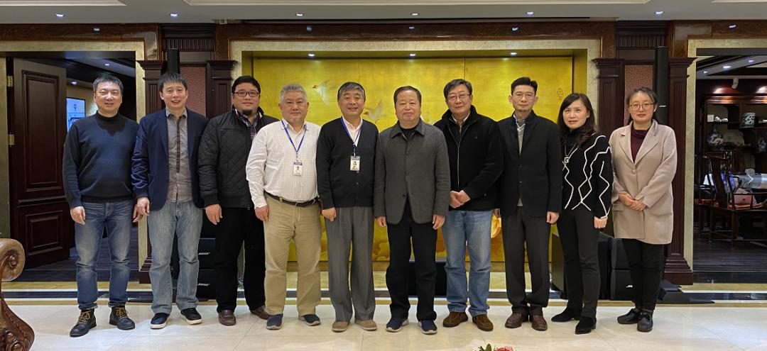 LDG动态︱欢迎上海市建筑学会曹嘉明理事长一行莅临上海经纬调研指导