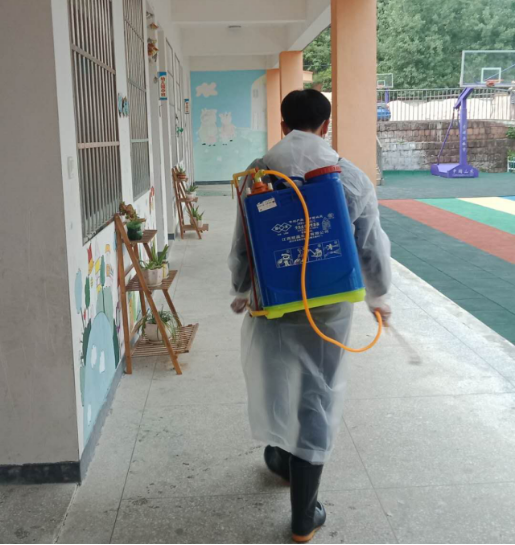 LDG公益︱南丰上海经纬希望小学落实防疫抗疫,迎接复学复课