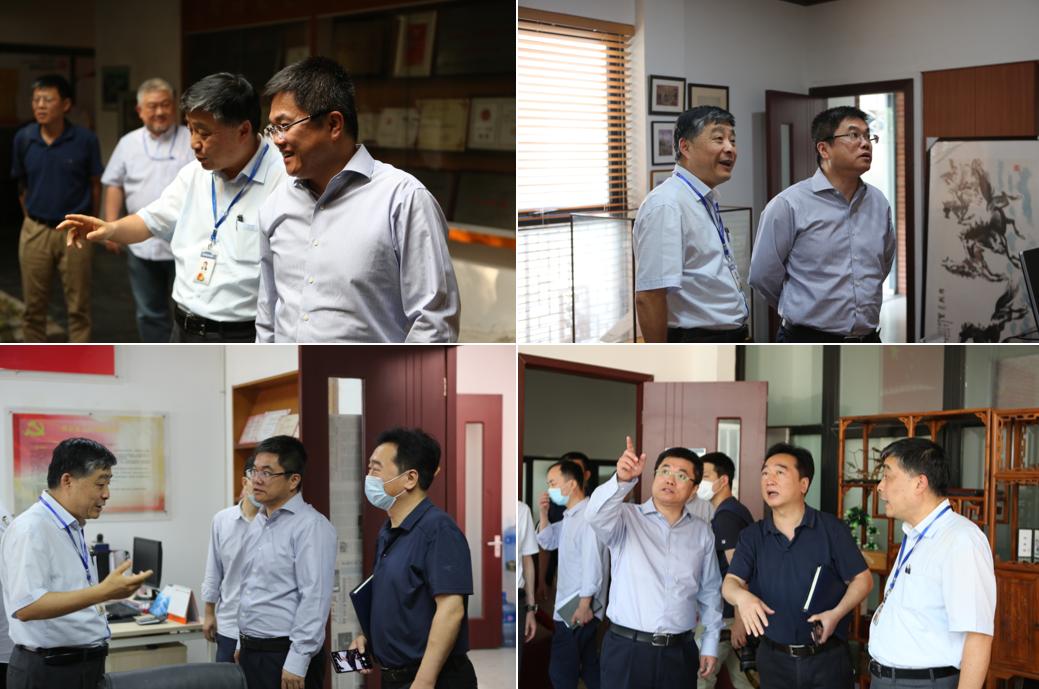 LDG动态︱杨浦区委副书记、区长薛侃一行莅临我院调研指导