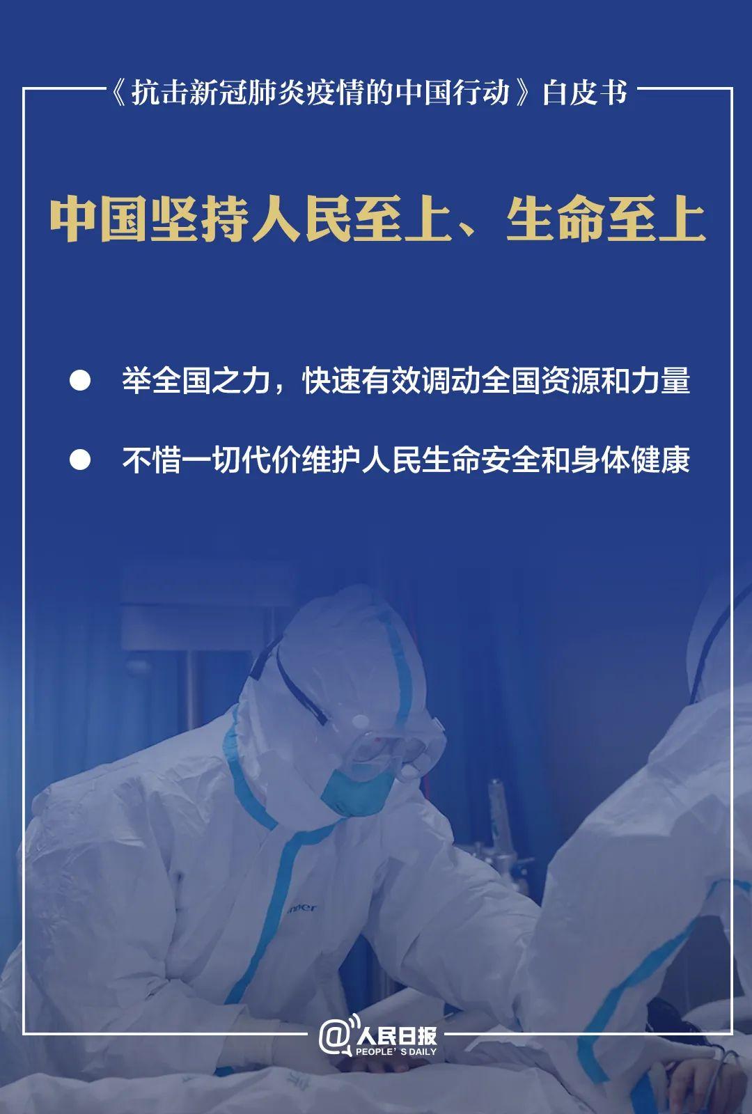 《抗击新冠肺炎疫情的中国行动》白皮书