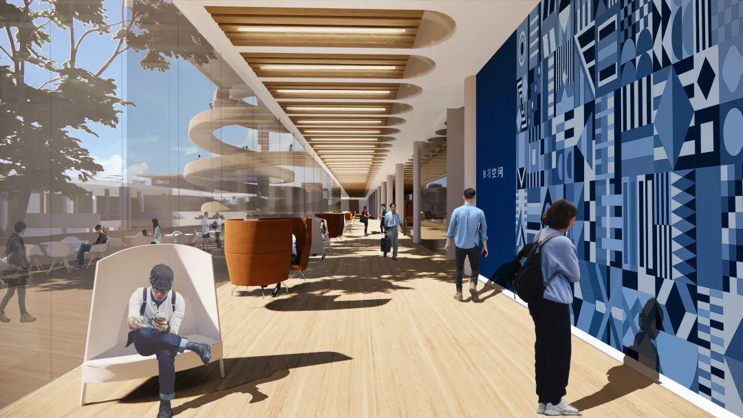 LDG建筑︱复旦大学邯郸校区综合图书馆(望道图书馆)项目概念方案设计