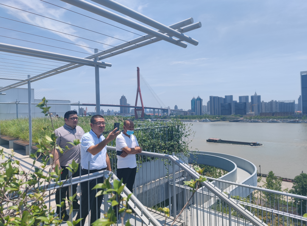 LDG动态︱城市更新,让生活更美好 —— 新疆喀什疏附县领导一行莅临上海经纬考察指导